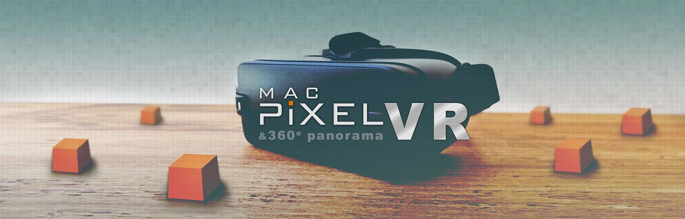 MacPixel VR and 360 panorama